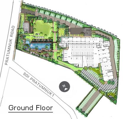 Unixx condominium Pattaya ground floor